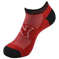 Youth Nebraska Cornhuskers Spirit No-Show Socks