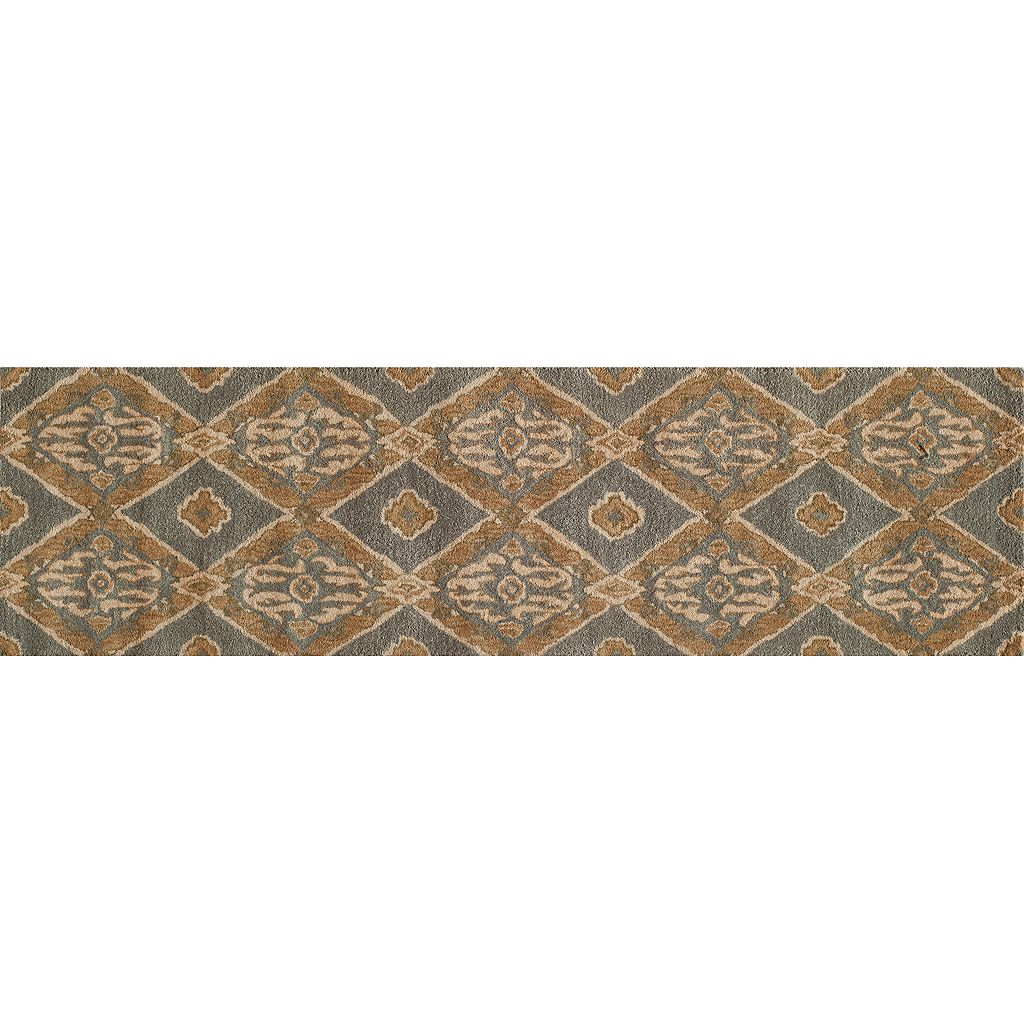 Momeni Habitat Diamond Scroll Rug