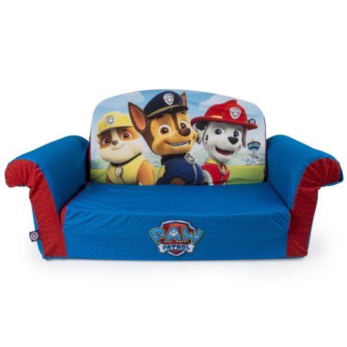 Paw Patrol 2 In 1 Flip Open Sofa By Marshmallow Furniture