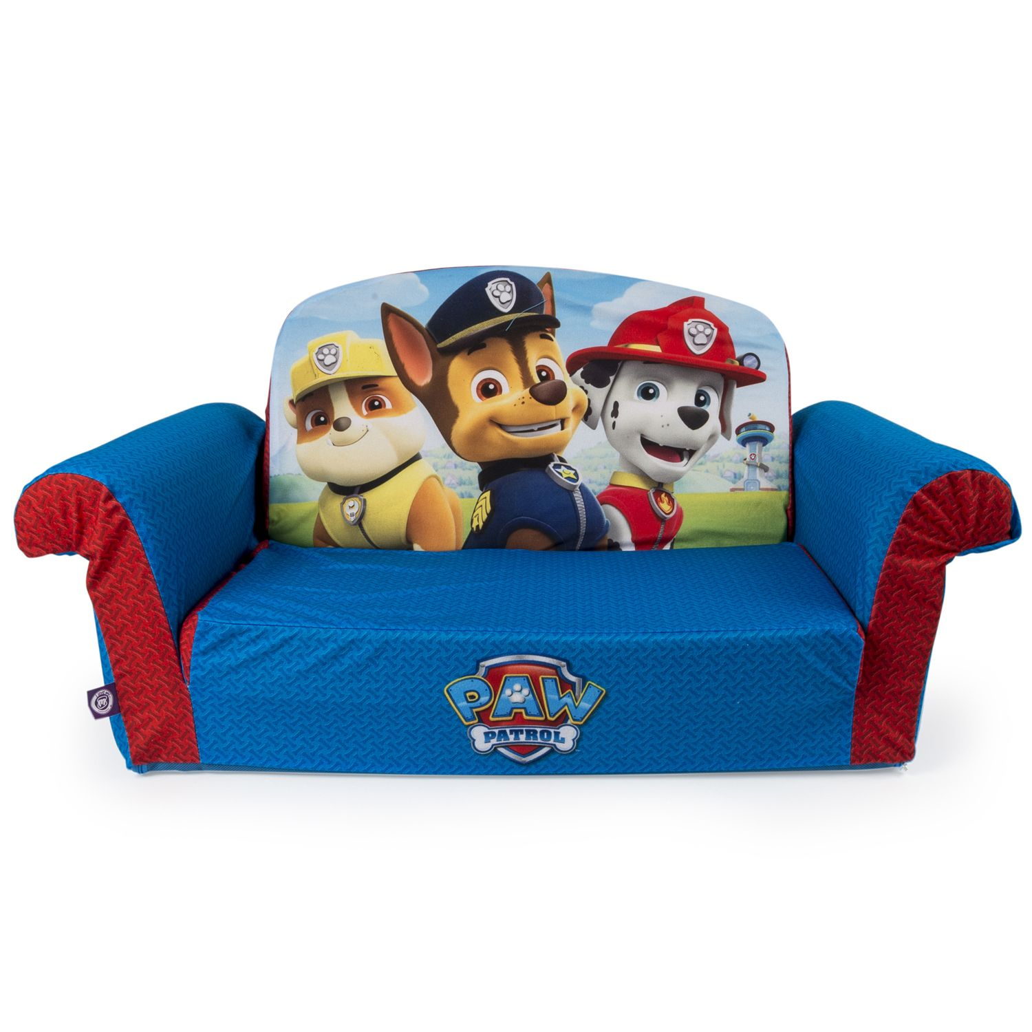 Paw Patrol 2 In 1 Flip Open Sofa By Marshmallow Furniture