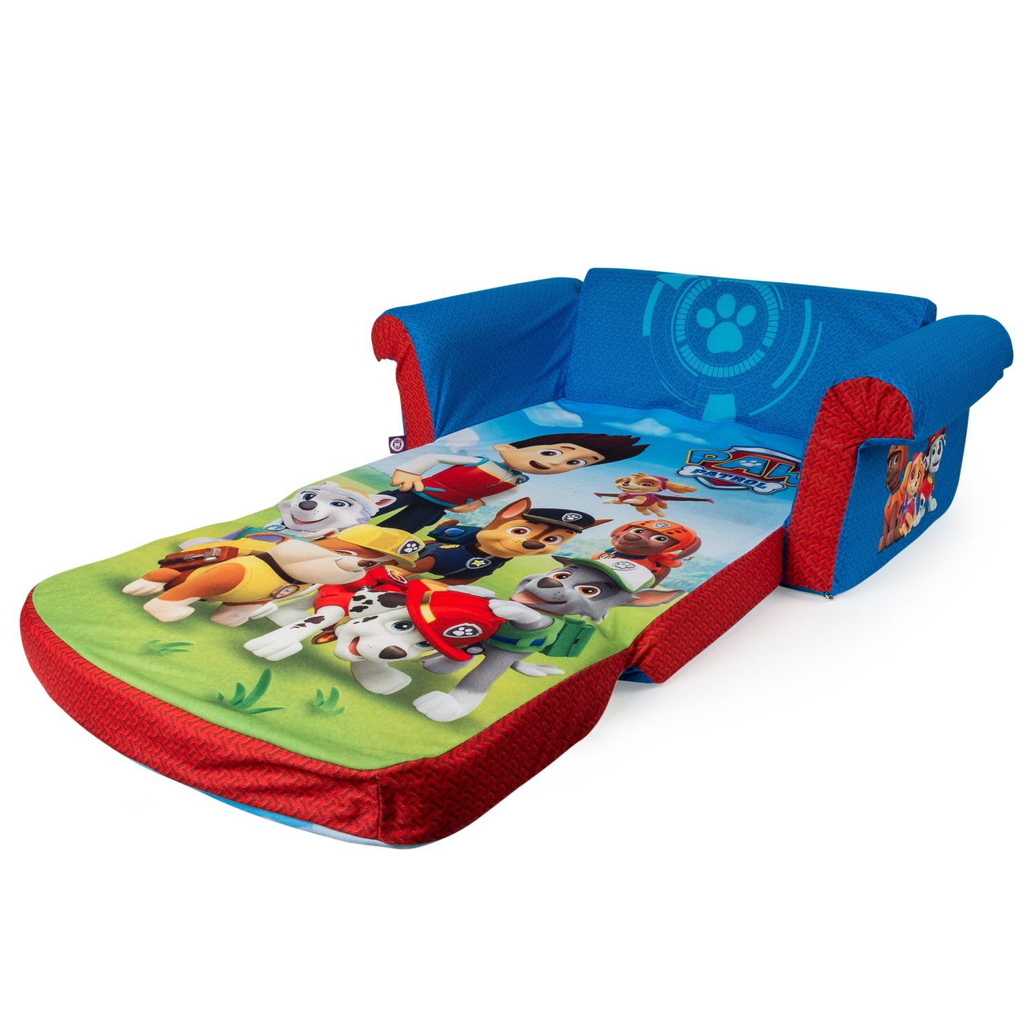 Superb Paw Patrol 2 In 1 Flip Open Sofa By Marshmallow Furniture