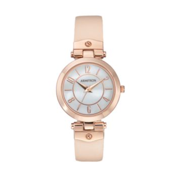 Armitron Women's Leather Watch - 75/5338MPRGBH