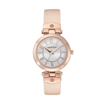 Armitron Women's Leather Watch - 75/5338MPRGBH