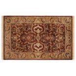 Linon Rosedown Framed Floral Wool Rug