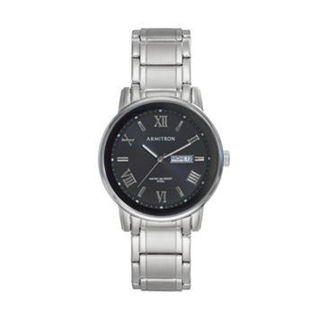 Armitron Men's Stainless Steel Watch - 20/4935BKSV