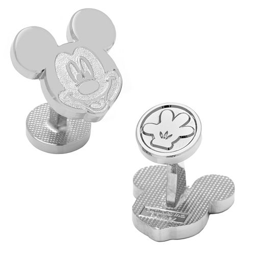 Disney's Mickey Mouse Silver Head Cuff Links