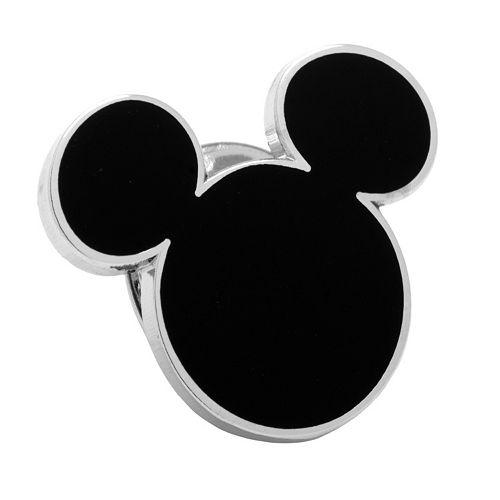 Disney's Mickey Mouse Head Silhouette Lapel Pin