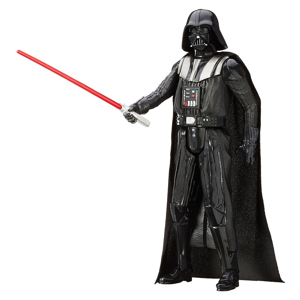 Star Wars: Episode III Revenge of the Sith 12-in. Darth Vader Figure by Hasbro