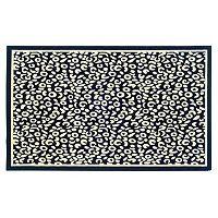 Linon Capri Framed Rug - 4'3'' x 7'3''