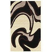 Linon Capri Abstract Rug - 4'3'' x 7'3''
