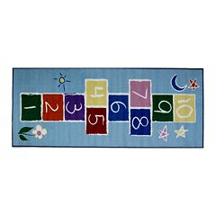 Fun Rugs Fun Time Primary Hopscotch Rug