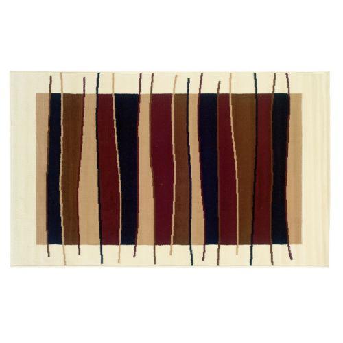 Linon Capri Striped Rug - 4'3'' x 7'3''