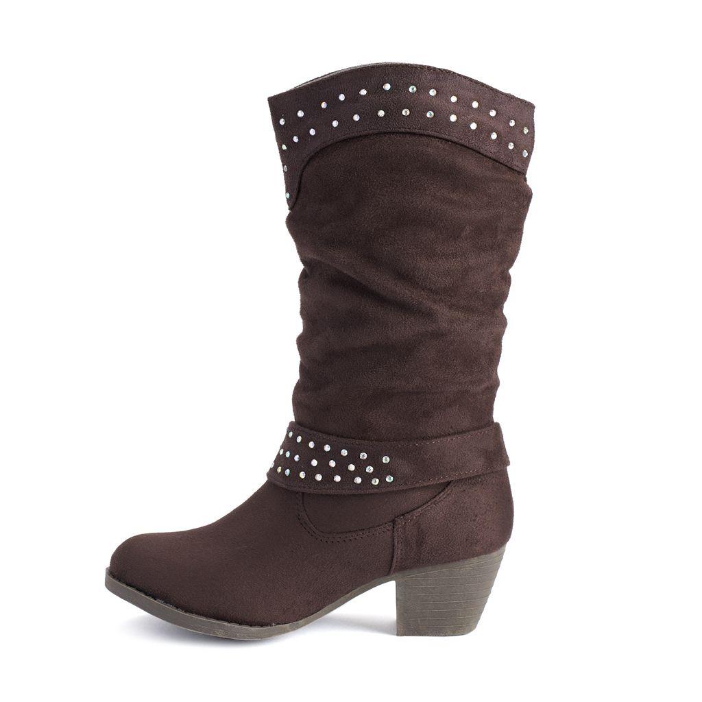 Unionbay Girls' Western Boots