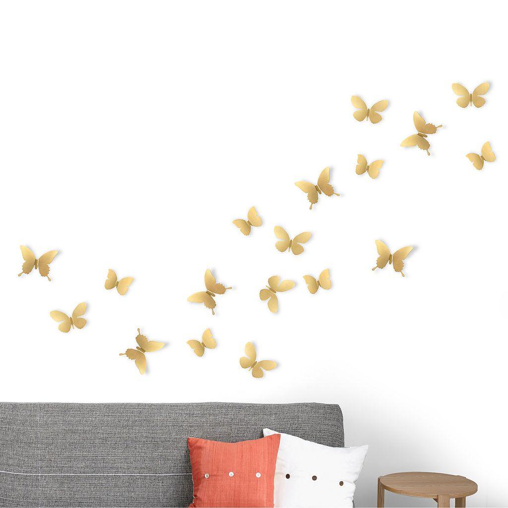 Umbra Mariposa Butterfly Wall Decor