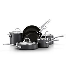 Calphalon Classic 10 pc Hard-Anodized Aluminum Nonstick Cookware Set