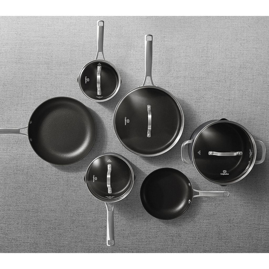 Calphalon Classic 10-pc. Hard-Anodized Aluminum Nonstick Cookware Set