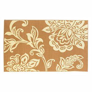 Linon Capri Floral Rug - 4'3'' x 7'3''