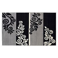 Linon Capri Scroll Rug - 4'3'' x 7'3''