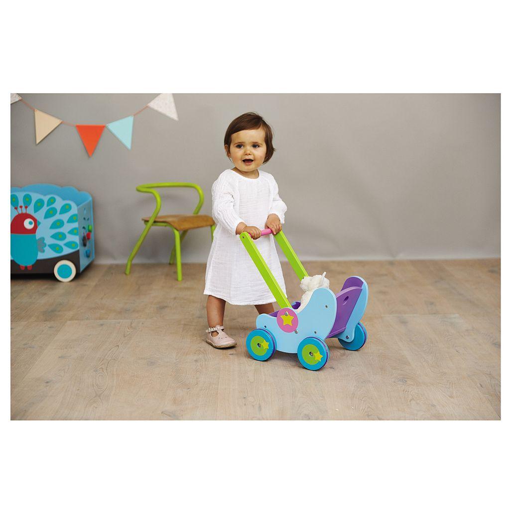 Boikido Wooden Doll Pram
