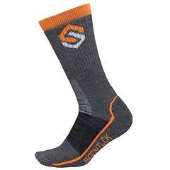 Men's Scent-Lok Merino Wool-Blend Hiking Socks