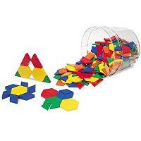 Learning Resources Plastic Pattern Blocks Set