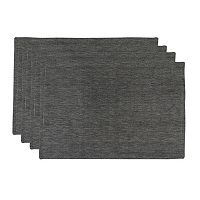 Park B. Smith Woven Chambray 4 pc Placemat Set