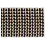 Linon Salonika Houndstooth Reversible Wool Rug - 5' x 8'