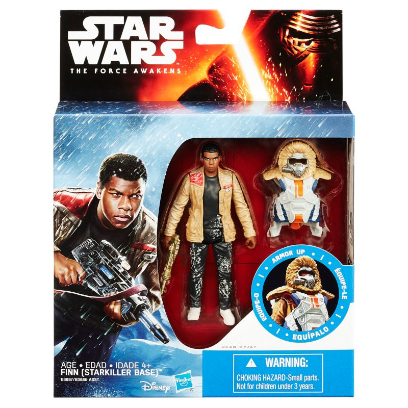 Star Wars: Episode VII The Force Awakens 3.75-in. Snow Mission Armor Finn (Starkiller Base) Figure by Hasbro 19635019