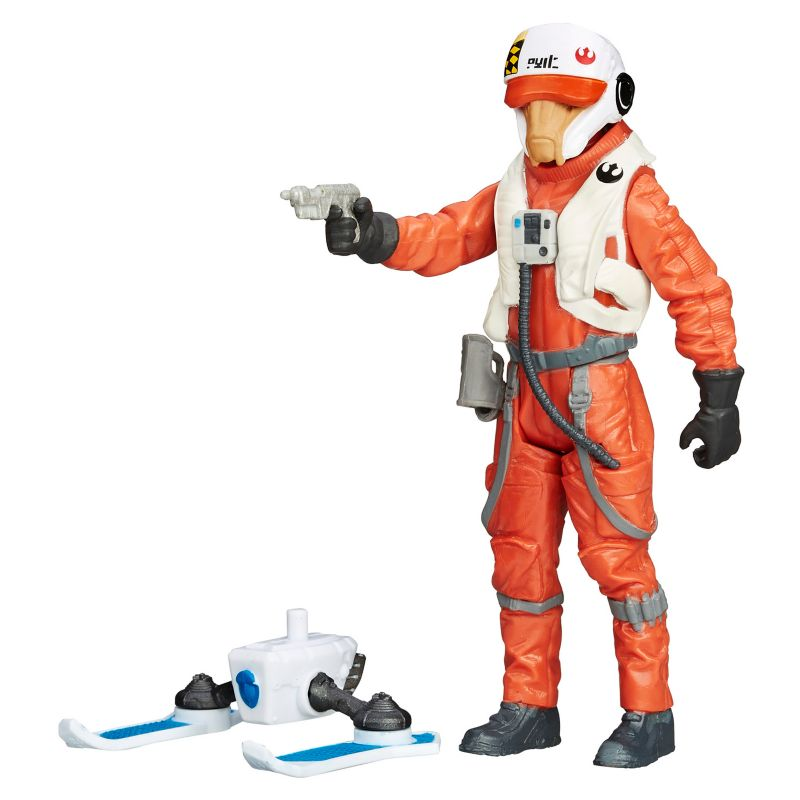 Star Wars: Episode VII The Force Awakens 3.75-in. Snow Mission X-Wing Pilot Ello Asty Figure by Hasbro () 18517256