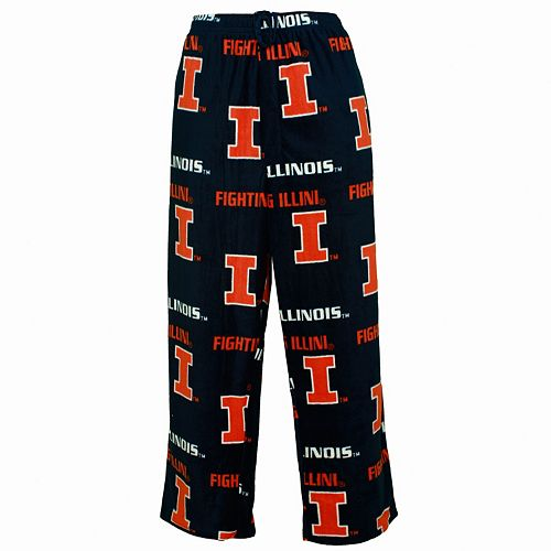 Men's Illinois Fighting Illini Façade Fleece Lounge Pants