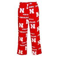 Men's Nebraska Cornhuskers Façade Fleece Lounge Pants