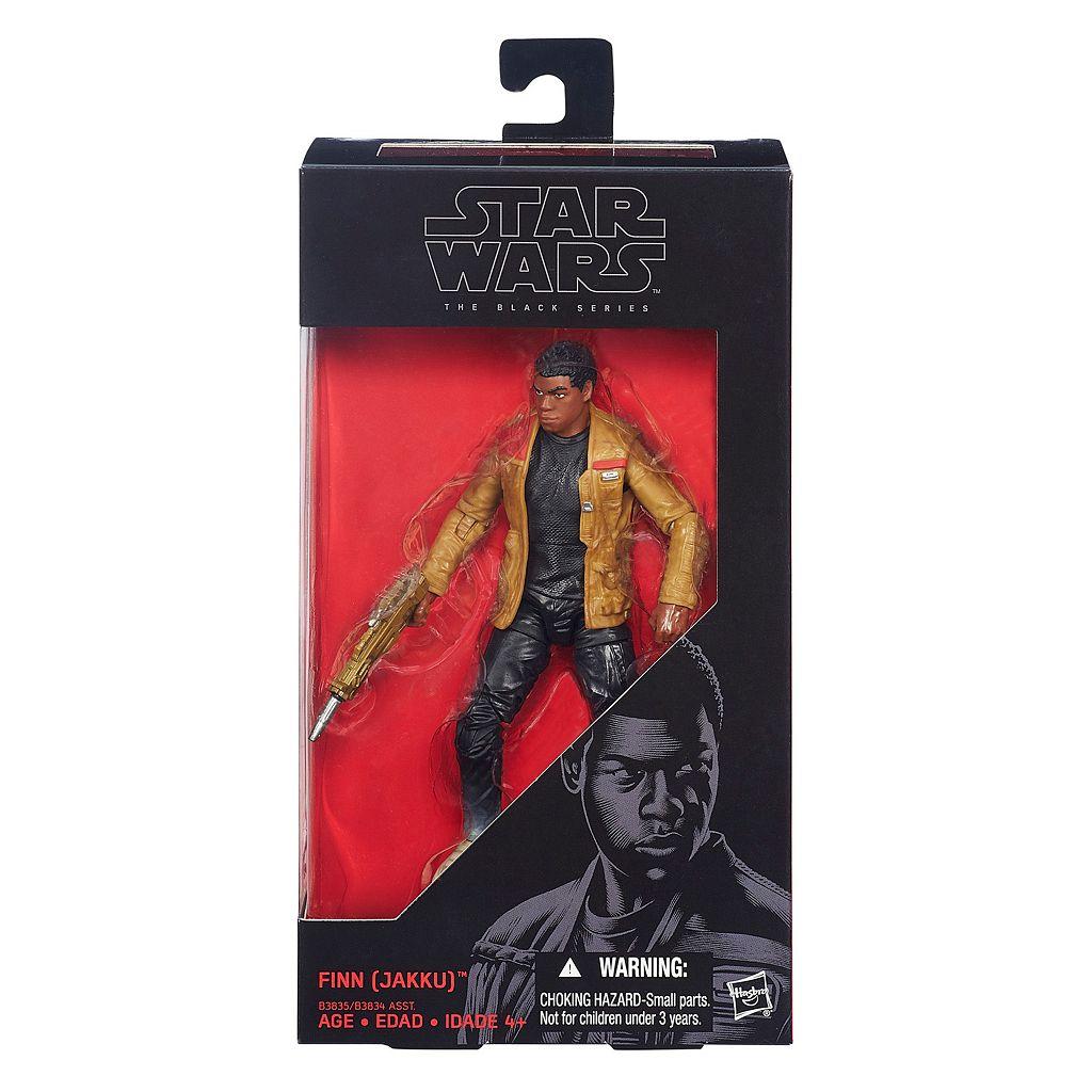 Star Wars: Episode VII The Force Awakens The Black Series 6-in. Finn (Jakku) Figure by Hasbro