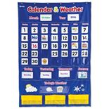 Learning Resources Calendar & Weather Pocket Chart