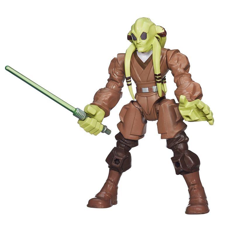 Star Wars: Episode II Attack of the Clones Hero Mashers Kit Fisto Figure by Hasbro, Multi/None 21078271