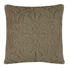 Waverly Charlotte Faux Fur Throw Pillow