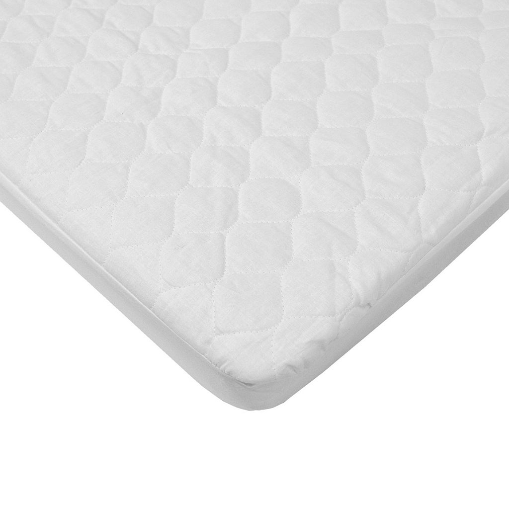 TL Care Organic Quilted Waterproof Bassinet Fitted Mattress Pad Cover
