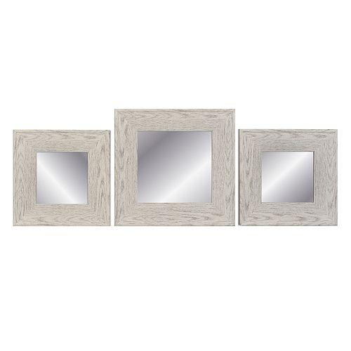 Belle Maison Square Mirror 3-piece Set