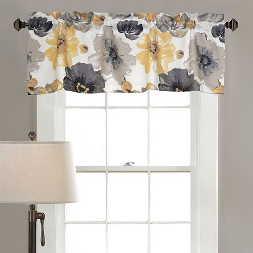 Half Moon Leah Window Valance - 18'' x 54''