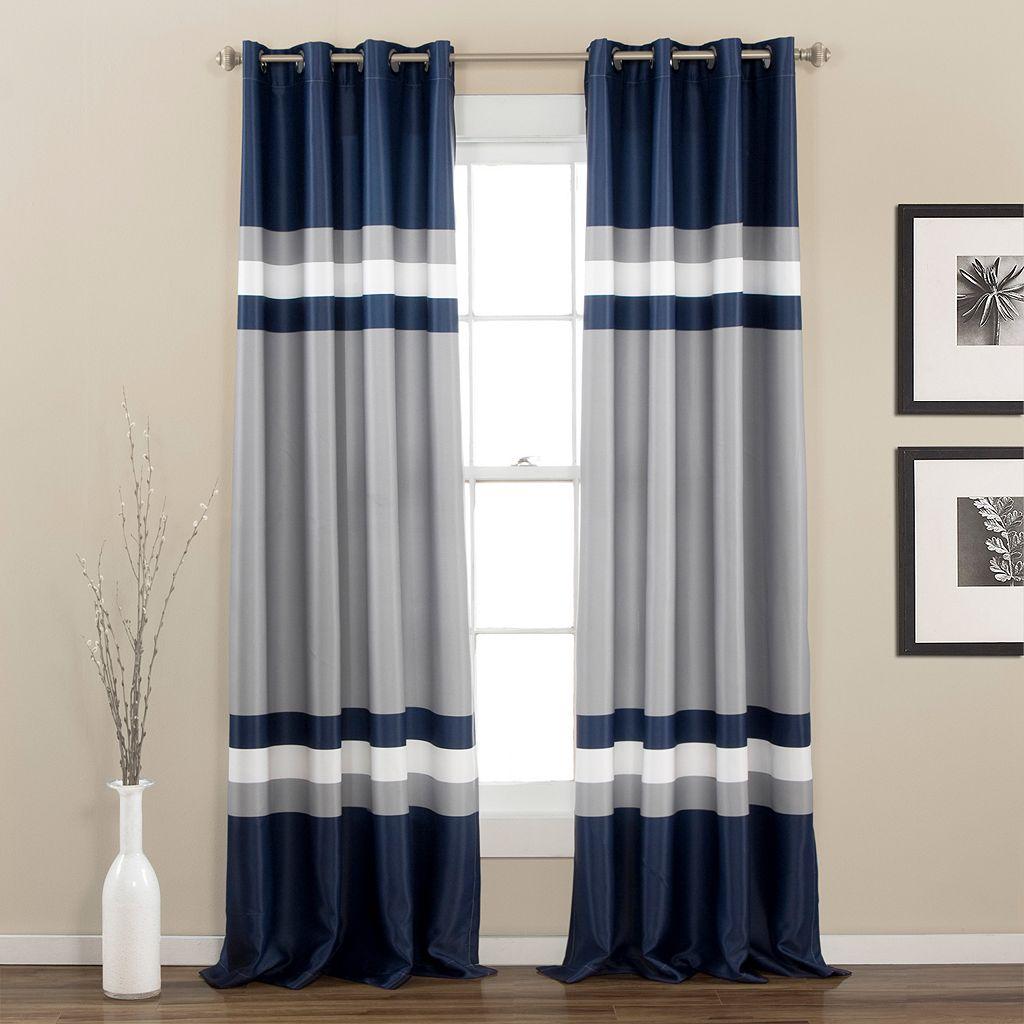 Half Moon 2-pack Alexander Window Curtains