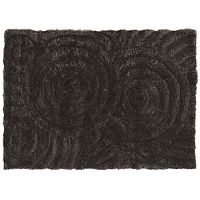 Linon Links Circles Shag Rug
