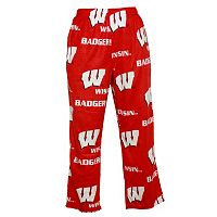 Men's Wisconsin Badgers Fleece Lounge Pants