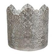 SONOMA Goods for Life™ Metallic Geometric Candle Sleeve