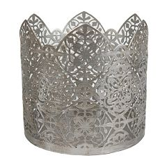 SONOMA Goods for Life™ Metallic Geometric Candle Sleeve
