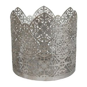 SONOMA Goods for Life® Metallic Geometric Candle Sleeve