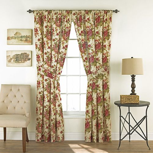 Waverly 2-pack Norfolk Window Curtains