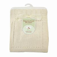 TL Care Organic Sweater Knit Blanket