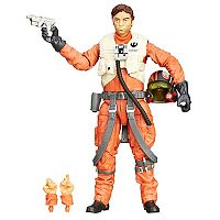 Star Wars: Episode VII The Force Awakens The Black Series 6-in. Poe Dameron Figure by Hasbro