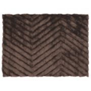Linon Links Zigzag Shag Rug
