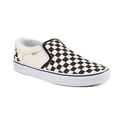 Vans Asher Men's Checker Skate Shoes