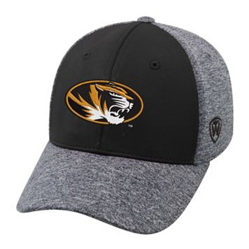 Adult Top of the World Missouri Tigers Pressure One-Fit Cap